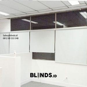 Jual Roller Blinds Dimout Sp 505-5 Silver Grey Gedung AKA Mampang Prapatan Jakarta Id6200