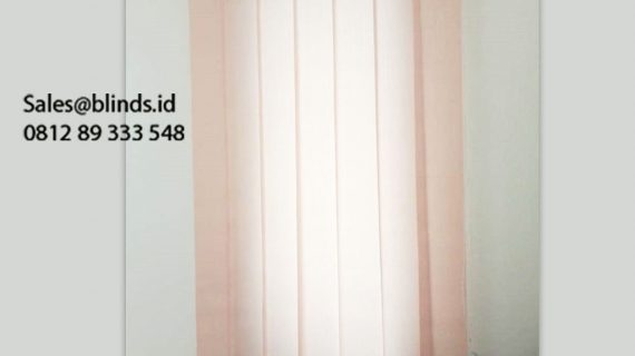 Jual Vertical Blinds Dimout Sp 8804 Brown Beige Klien Pesanggrahan Jakarta