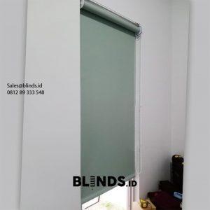 Jual Roller Blinds Blackout Sp 6045-4 Green Cluster Malibu Village Pagedangan ID6310