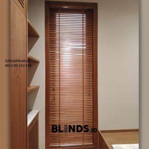 Tirai Wooden Blinds Bikin Ruangan Makin Asri ID6149
