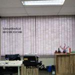Harga Vertical Blinds Semi blackout Sp 8370-6 Grey Rasuna Said Setiabudi Jakarta