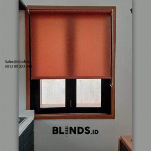 Roller Blinds Dimout Sp 303-4 Red Orange Bukit Pamulang Indah Pamulang Tangerang Id6368