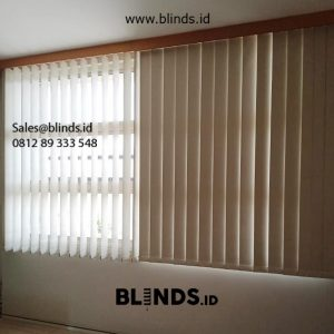 Toko Vertical Blinds Blackout Sp 6045-6 krem Iskandar Muda Neglasari Tangerang ID5988