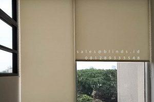 Harga Roller Blinds Dimout Sp 606-2 Cream Kawasan Industri Sentul Citeureup Bogor ID4623