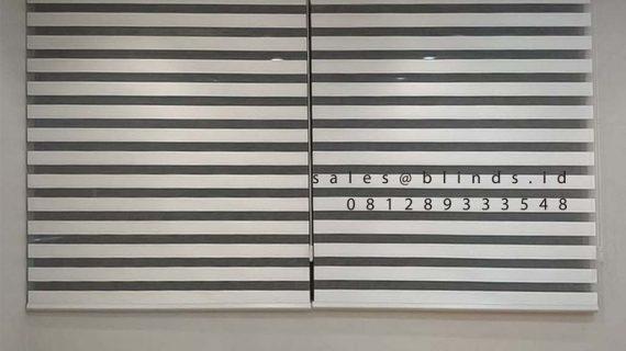Jual Zebra Blinds Dimout SP 191 White Boulevard Raya Gading Serpong Kelapa Dua