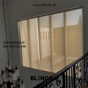 Roller Blinds Solar Screen Sp 2600-5 Coklat Pondok Bambu Duren Sawit Id5626