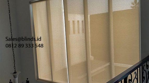 Roller Blinds Solar Screen Sp 2600-5 Coklat Pondok Bambu Duren Sawit