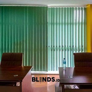 Harga Vertical Blinds Sp 6045-4 Green Gedung 18 Office Park Tb Simatupang Pasar Minggu ID5990