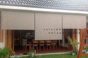 Roller Blinds Sunscreen Outdoor Sp 90-03 Toast MPR I Dalam Cilandak Jakarta ID6317