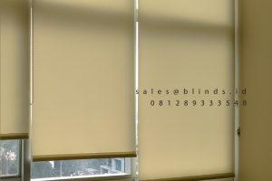 Harga Roller Blinds Dimout Sp 202-1 Beige Apartemen Sahid Sudirman Residence Tanah Abang Id6677
